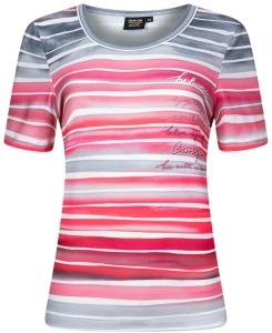 Canyon T-Shirt Ringel grau-pink-rosa-weiss (Größe: 38)