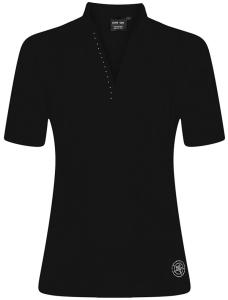 Canyon Women Sports Poloshirt schwarz oder weiss (Größe: 42 weiss)