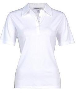 Serena Malin Poloshirt weiss oder marine (Größe: 46 weiss)