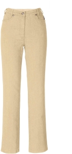 Adelina Five-Pocket-Jeans beige oder mint (Größe: 40 mint)