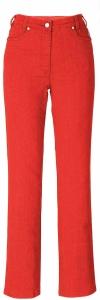 Adelina Five-Pocket-Jeans rot oder blau (Größe: 44 blau)