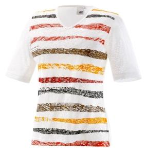 Joy T-Shirt Wiona tobacco stripes (Größe: 38)