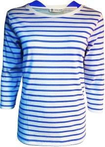 Serena Malin T-Shirt Maritim Ringelshirt 3/4 Arm (Größe: 44)