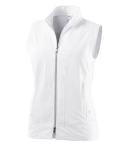 Joy Weste Daria Joy Sportswear weiss (Größe: 40)
