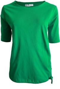 Serena Malin T-Shirt Uni mit Tunnelzugsaum (Größe: 42 schwarz)