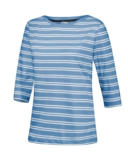 Joy Sportswear Damen T-Shirt Carolin 3/4 Arm (Größe: 38 rot-weiss)