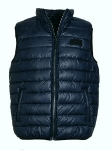 Nickel Sportswear Crossfield Herren Steppweste Marineblau (Größe: 54)