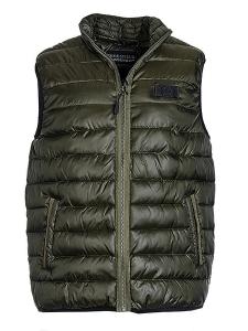 Nickel Sportswear Crossfield Herren Steppweste oliv (Größe: 52)