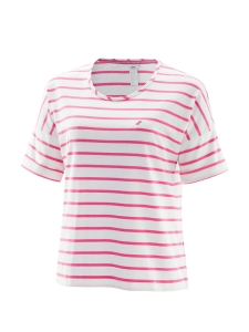 Joy Sportswear Zola Damen T-Shirt pink-weiss (Größe: 46)