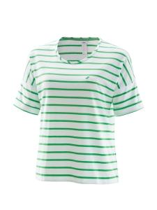 Joy Sportswear Zola Damen T-Shirt grün-weiss (Größe: 42)