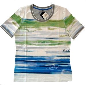Canyon Women Sports T-Shirt Druck Seablue (Größe: 40)