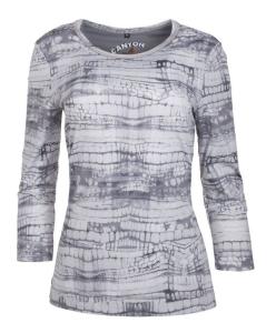 Canyon T-Shirt Allover Druck silvergrey (Größe: 48)