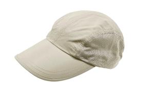 Maul Mütze Mackay II Travel Cap Hut (Farbe: dunkelgrau mit schwarzen Netzeinsätzen)