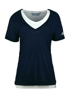 Canyon Doppelshirt indigoblau (Größe: 38)