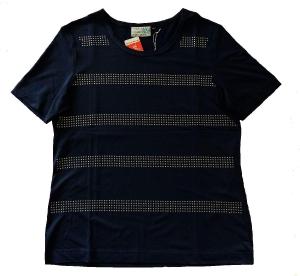 Canyon T-Shirt 1/2 Arm blau mit Nietenstreifen (Größe: 48)