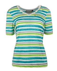 Canyon T-Shirt 1/2 Arm smaragd-citrus (Größe: 36)