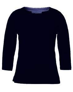 Serena Malin Sweatshirt einfarbig navy Diva (Größe: 48 navy)