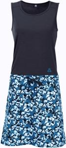 Maul Sport Capri Kleid mit Blumenprint (Größe: 40 blau)