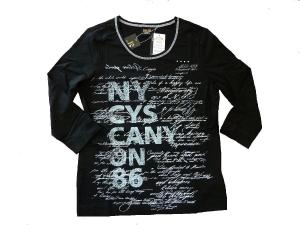 Canyon Women Sports T-Shirt 3/4 Arm Druck (Größe: 42)