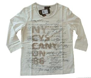 Canyon T-Shirt 3/4 Arm Druck offwhite (Größe: 48)