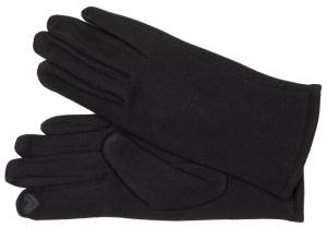 Fiebig Damen Handschuh mit Innenflauschfutter schwarz (Größe: L)