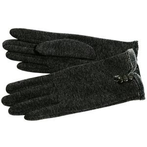 Fiebig Damen Handschuh mit Innenteddyfell (Größe: M)