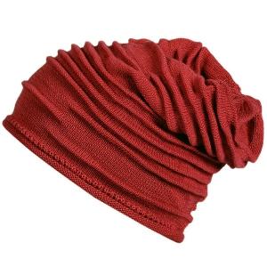Fiebig Mütze Strickbeanie Farbe Coralhimbeere