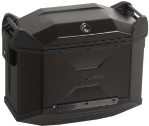 Hepco & Becker Xceed Aluminium Koffer Jet black (Größe: 38 Liter links)