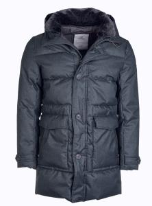 Nickel Outerwear Herren Steppmantel anthr. melange (Größe: 56)
