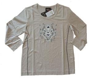 Canyon T-Shirt 3/4 Arm Druck mandel (Größe: 40)