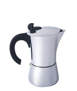 Relags Espresso Maker Edelstahl (Größe: 4 Tassen)
