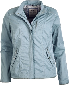Nickel Outerwear Damenjacke Kurzjacke Taubenblau (Größe: 46)