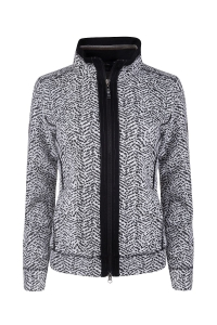 Canyon Sweatjacke black-white (Größe: 38)