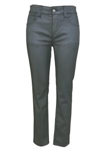 Bluebeery Jeans grau Glanzeffekt (Größe: 40)