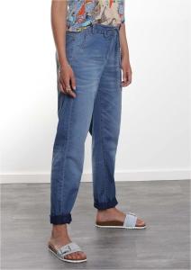 Bluebeery Jeans lässig mit Bindeband (Größe: 40)