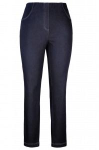 Adelina Schlupfhose Jeans magic Komfort Denim (Größe: 40 weiss)