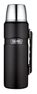 Thermos Isolierflasche King 1,2 Liter (Farbe: rot)