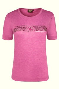 Canyon T-Shirt aubergine melange (Größe: 42)