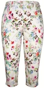 Adelina Capri Comfort Fit Hose Summer Cotton Stretch (Größe: 38)