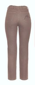 Adelina Five-Pocket-Jeans karamell oder grau (Größe: 44 grau)