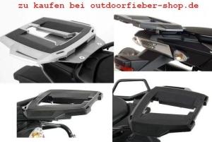 Hepco Becker Alurack für Triumph (bitte wählen: Alurack für  Triumph Tiger Explorer 1200 Modell 2012-15 Fb schwarzschwarz)