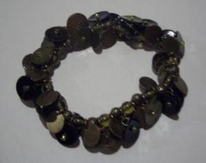ausgefallenes Armband olivgrün Modeschmuck