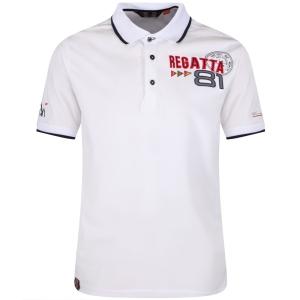 Regatta Polo Shirt Tremont II weiss (Größe: M)