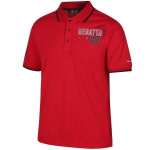 Regatta Polo Shirt Tremont II rot (Größe: S)
