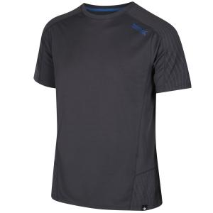 Regatta Funktions-T-Shirt Hyper-Reflective grau (Größe: M)