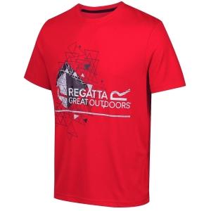 Regatta Fingal III Funktions-T-Shirt rot (Größe: XL)