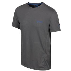 Regatta Funktions-T-Shirt Hyper-Cool grau (Größe: 2XL)