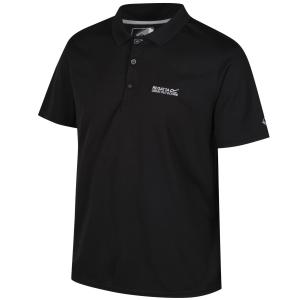 Regatta Polo Shirt Maverik IV Men schwarz (Größe: XL)