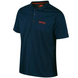 Regatta Polo Shirt Maverik IV Men denim (Größe: 5XL)
