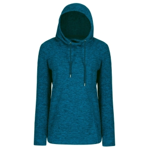 Regatta Kizmit II Fleecepulli Hoodie majolica blau (Größe: 40)